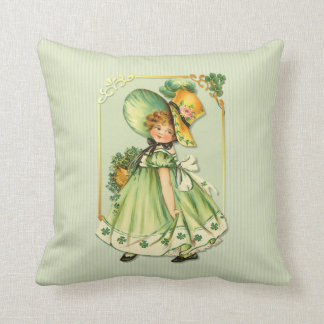 Irish Shamrock Stroll Cushion