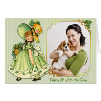 Irish Shamrock Stroll - Personalise Card