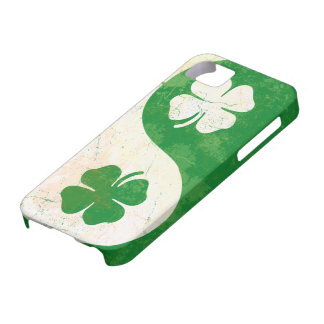 Irish Shamrock Yin Yang Custom Case-Mate ID™ iPhon