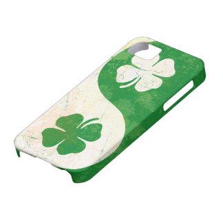 Irish Shamrock Yin Yang Custom Case-Mate ID™ iPhon iPhone 5 Cover