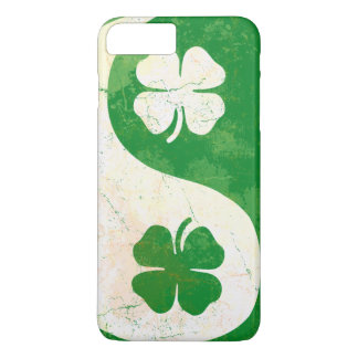 Irish Shamrock Yin Yang iPhone 8 Plus/7 Plus Case