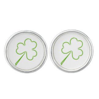 Irish Shamrocks Cufflinks