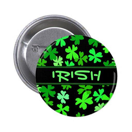 Irish Shamrocks Holiday Pin
