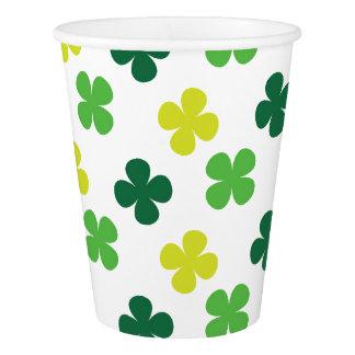 Irish Shamrocks Paper Cup