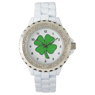 Irish Shamrocks Watch