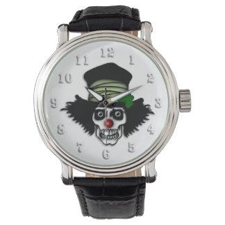 Irish Skeleton Clown Watch