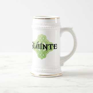 Irish Slainte Beer Stein