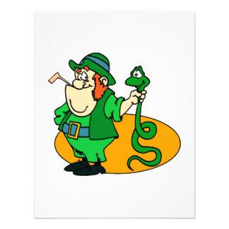 Irish Snake Catcher Custom Announcements
