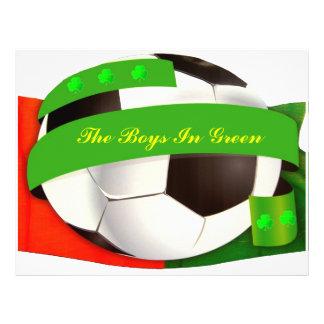 Irish Soccer Flyer