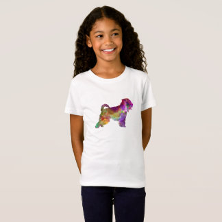 Irish Soft Coated Wheaten Terrier in watercolor.pn T-Shirt