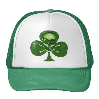Irish St Patrick s Day Pirate Clover Hat