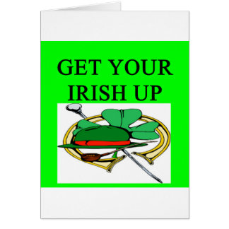 irish st patrick sday joke greeting cards