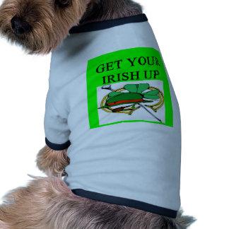 irish st patrick sday joke pet clothes