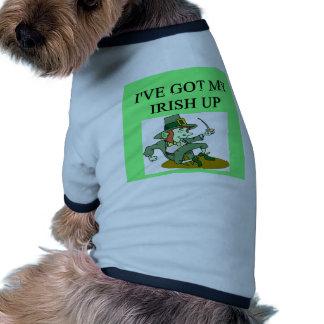 irish st patrick sday joke doggie tshirt