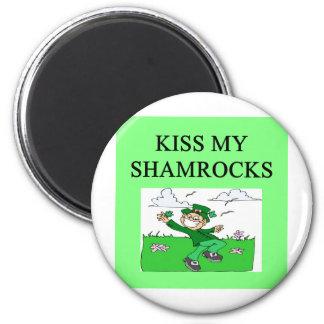 irish st patrick sday joke refrigerator magnet