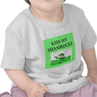irish st patrick sday joke t-shirts