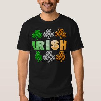 Irish St. Patrick's Day Cool Damask Clover T-Shirt