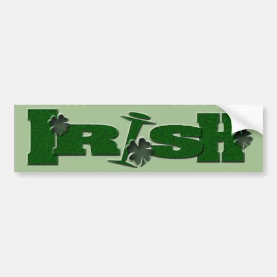 Irish St. Patrick's Day gifts Bumper Sticker