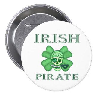 Irish St. Patrick's Day Pirates Button