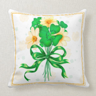 IRISH ST-PAT'S THROW PILLOW 20 X 20