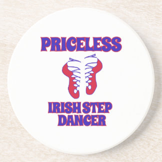 Irish step dance designs coaster