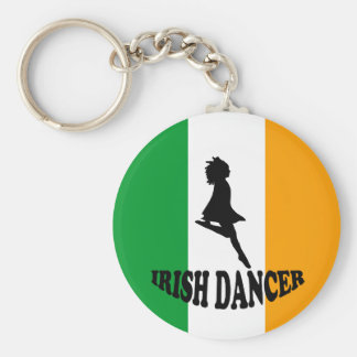 Irish Step Dancer Key Ring