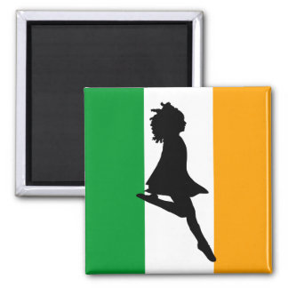 Irish Step Dancer Magnet