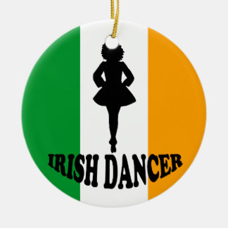 Irish Step Dancing Ornament
