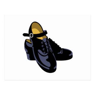 Irish Step Shoes Postcard