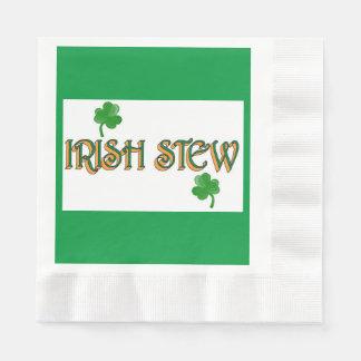 Irish Stew Disposable Serviettes