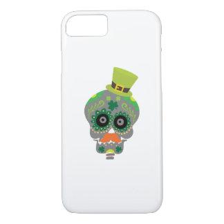Irish Sugar Skull Funny St Patricks Day iPhone 8/7 Case