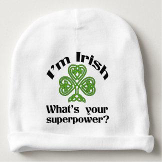 Irish Superpower St. Patrick's Day Baby Beanie
