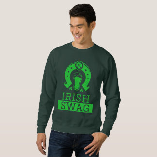 Irish Swag Funny St. Patricks Day Drinking Shirt