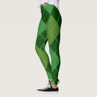 irish tartan leggings