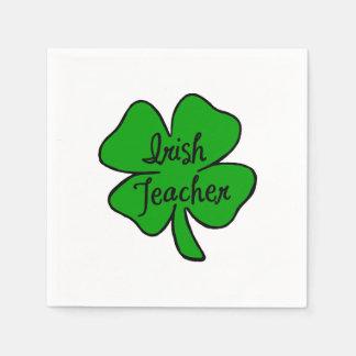 Irish Teachers Disposable Serviettes