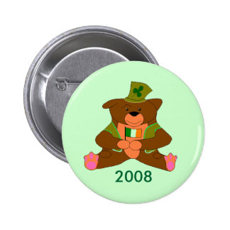 irish ted 2008 pinback button