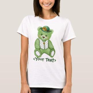 Irish Teddybear - Green T-Shirt