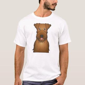 Irish Terrier Cartoon T-Shirt