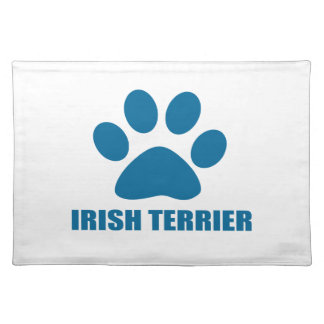 IRISH TERRIER DOG DESIGNS PLACEMAT