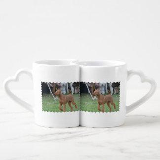 Irish Terrier Dog Lovers Mug Set