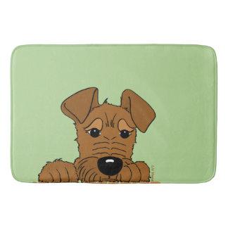 Irish Terrier head Cute Bath Mat