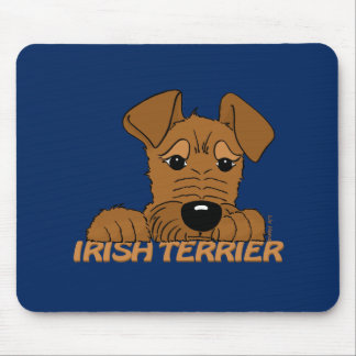 Irish Terrier head Cute Mouse Pad