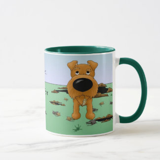 Irish Terrier (Irish Terriers) I Hunt... Mug