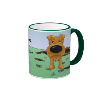 Irish Terrier (Irish Terriers) I Hunt... Mug