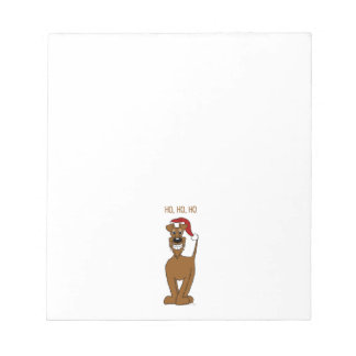 Irish Terrier Santa Notepads