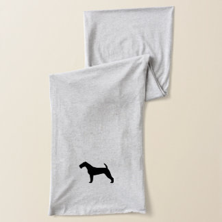 Irish Terrier Silhouette Scarf