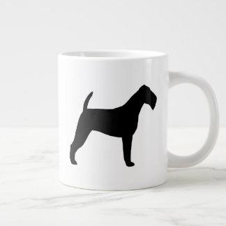 Irish Terrier Silhouettes Large Coffee Mug