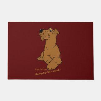 Irish Terrier - Simply the best! Doormat