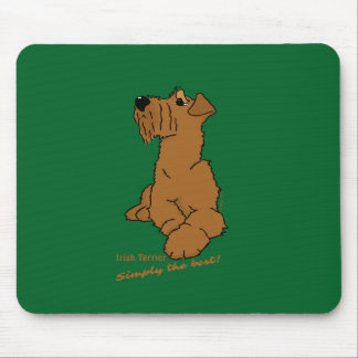 Irish Terrier - Simply the best! Mouse Pad