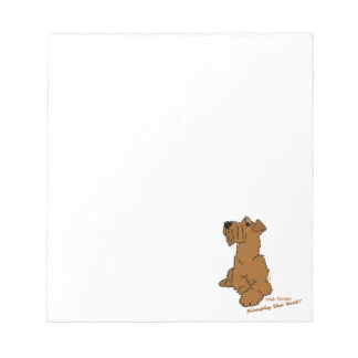 Irish Terrier - Simply the best! Notepads
